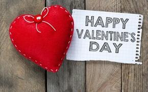 Картинка Happy, сердце, Valentine's Day, романтика, любовь, romantic, love, heart