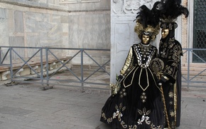 Картинка карнавал, маски, венеция, костюмы, маскарад