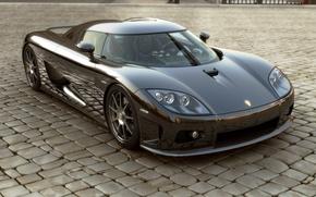 Картинка стекло, перед, суперкар, Koenigsegg ccx, кёнигсегг
