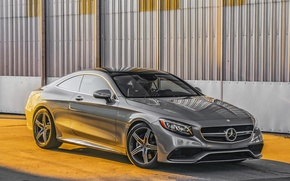 Обои 2015, amg, mercedes-benz, s-clss, coupe, c217, мерседес