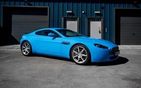 Картинка Aston Martin, Light, Blue, Gloss, Wrap, DB8