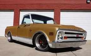 Картинка Chevrolet, Truck, 1968, Wheels, C10, Concave