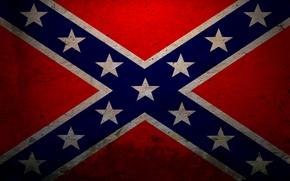 Обои флаг, звёзды, красный