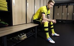 Картинка Германия, Спорт, Футбол, Боруссия Дортмунд, Марко Ройс, Ballspielverein Borussia 09 e. V. Dortmund, Marco Reus