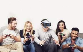 Картинка Люди, Hi-Tech, DualShock 4, Controller, Console, PlayStation VR