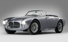 Картинка ретро, красота, кабриолет, спортивный автомобиль, Maserati A6GCS Frua Spider