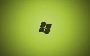 Картинка green, текстура, windows, текстуры