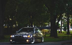 Картинка BMW, БМВ, Диски, E46, 3 series, Stance