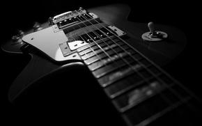 Обои гитара, les paul