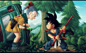 Картинка Dragon, Anime, Wallpaper, Ball, Kid, Akira, Dragon Ball, Japanese, Goku, Piccolo, Manga, High, Gohan, San …