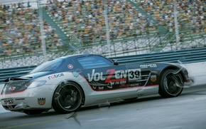 Картинка игра, mercedes, game, cars, sls, amg, Project, Project CARS, 2015, Slightly Mad Studios, Community Assisted …