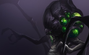 Обои Abathur, Heroes of the Storm, starcraft, moba, art