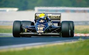 Картинка Макларен, шлем, Лотус, 1984, Формула-1, 1990, Легенда, Ayrton Senna, 1988, 1991, 1994, экстремальный спорт, 1988-1993, …