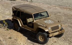 Обои Concept, джип, концепт, Jeep, 2015, Staff Car