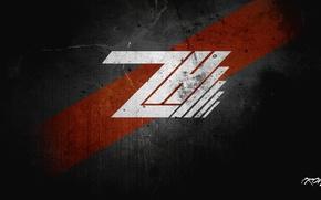 Картинка portal, wallpaper, logo, creative, red., Hack'Z