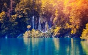 Обои nature, lake, пейзаж, landscape