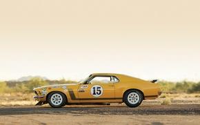 Картинка Mustang, Ford, Boss 302, Race, 1970, Legend, Muscle car, TransAm