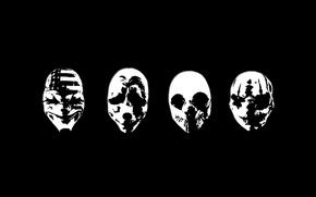 Картинка маски, Art, Payday 2, Payday