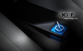 Картинка кнопка, ноутбук, acer, асер, aspire series