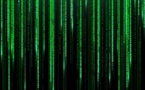 Обои матрица, matrix, код