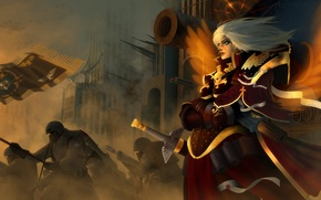 Картинка Warhammer 40.000, sisters of battle, сёстры битвы, adepta sororitas, война