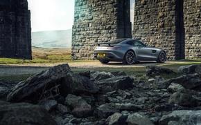 Картинка Mercedes, мерседес, AMG, амг, UK-spec, 2015, Edition 1, GT S, C190