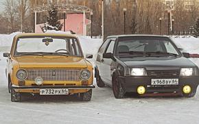 Картинка зима, Lada, Лада, 2101, 2108, БПАН