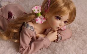 Картинка игрушка, кукла, бантики