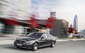 Обои 2015, mercedes-benz, maybach, s-class, x222, мерседес