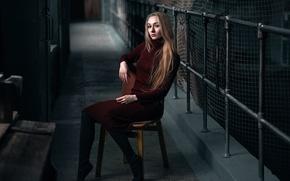 Картинка платье, стул, Наташа, Макс Кузин