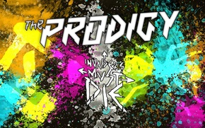 Картинка техно, Великобритания, The Prodigy, электроник-рок, дэнс-панк