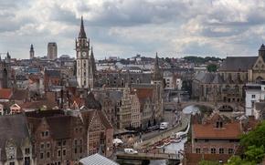 Картинка здания, Бельгия, архитектура, Gent, Фландрия, Гент