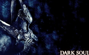 Картинка Dark Souls, Namco Bandai Games, Helmet, Artorias, Warrior, From Software, Sword, Video Game, Armor