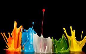 Картинка краска, всплеск, explosion of colors