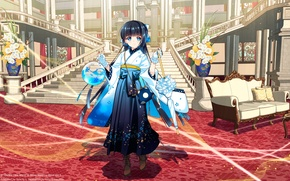 Картинка Anime, Mascot, Suishou Shizuku, Crystal Dsik Info, WQXGA+, Software