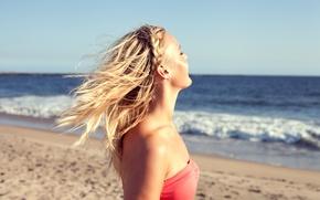 Фотки девушек-блондинок на отдыхе