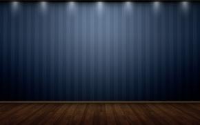 Обои креатив, свет, пол, стена, лампы, текстуры