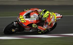 Картинка Гонка, Байк, Мотоцикл, Мото, Ducati, MotoGP, Valentino, Rossi, Валентино Росси