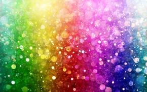 Картинка lights, огни, фон, цвет, colorful, rainbow, bokeh