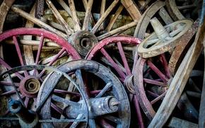 Картинка макро, фон, колёса