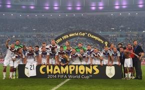 Картинка радость, футбол, победа, чемпионат мира, чемпионы, сборная Германии
