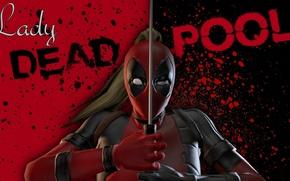 Картинка Deadpool, Marvel, Дэдпул, Марвел, Wanda Wilson, Lady Deadpool, Леди Дэдпул, Ванда Уилсон