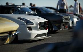 Картинка Mercedes-Benz, AMG, SLS
