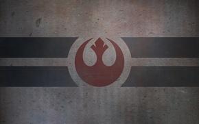 Обои star wars, эмблема, текстура, фон, логотип, полосы, обои