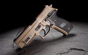 Обои пистолет, Mk25, Sig Sauer, P226, фон