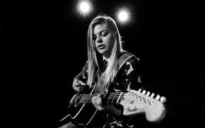 Картинка Франция, гитара, певица, Louane Emera