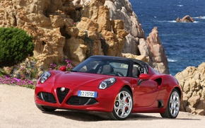 Обои спайдер, Spider, 2015, 960, альфа ромео, Alfa Romeo