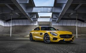 Картинка Mercedes-Benz, AMG, yellow