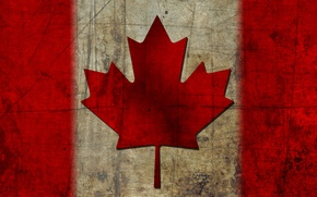 Картинка флаг, канада, кленовый лист, canada, flag