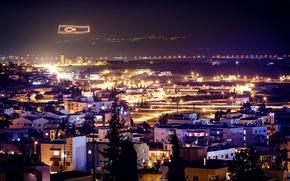 Картинка ночь, Турция, night, Turkey, Northern Cyprus, Северный Кипр